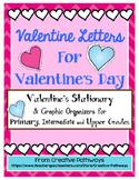 Valentine's Writing, Valentine's Letters, Valentine Stationary