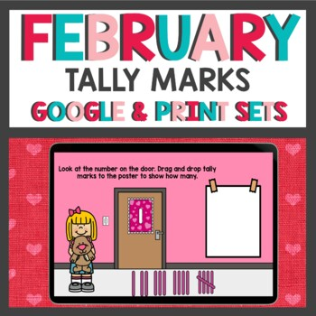 Valentines Day Tally Marks