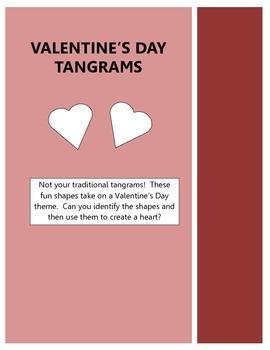 Valentine's Day Tangrams