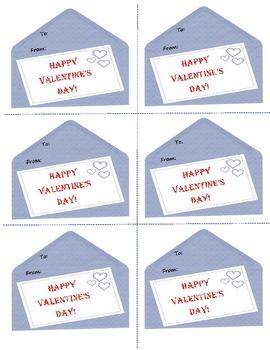 Valentine's Day Teacher Notecards
