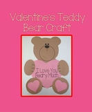 Valentine's Day Teddy Bear Craft