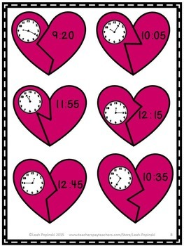 Telling Time Puzzle Center