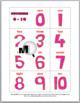 Ten Frames Number Cards 0-20 - Valentine's Day Math
