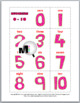 Ten Frames Matching Games (Numbers 0-10 and 10-20) -Valent