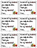 Valentine's Day Thank You Notes to Students