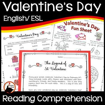 Valentines Day Reading