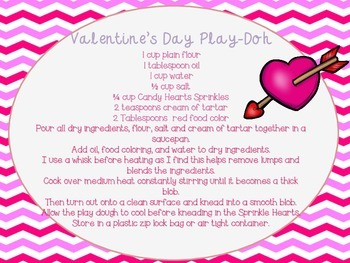 Valentine's Day Theme Alphabet Play-Doh Mats