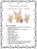 Valentine's Day Theme Expository Writing