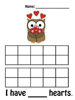 Valentine's Day Themed 10 Frames