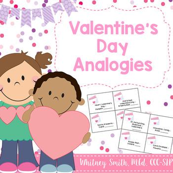 Valentine's Day Themed Analogies