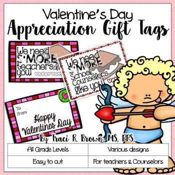 Valentine's Day Appreciation Gift Tags