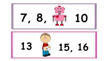 Valentines Day Theme Math Centers