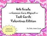 Valentine's Day Themed Math Task Cards