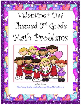Valentine's Day Themed Math Word Problems
