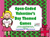 Valentine's Day Themed Open Ended FREEBIE games