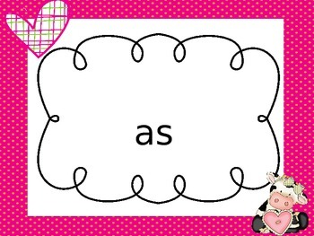 Valentine's Day Themed Sight Word PowerPoint