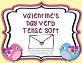 Valentine's Day Themed Verb Tense Sort