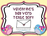Valentine's Day Themed Verb Tense Sort