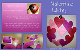 Valentines Day Themes Idioms Booklet FREEBIE