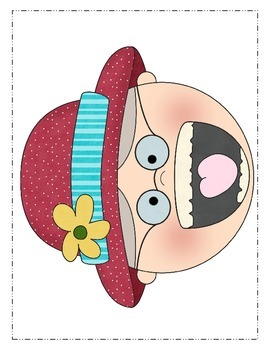 Valentine's Day-There Was an Old Lady Who Swallowed a Rose! Book Activities