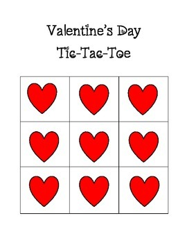Valentine's Day Tic-Tac-Toe