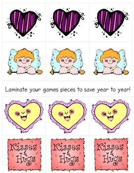Valentine's Day Tic-Tac-Toe Game