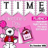 Sight Word Fluency Valentine