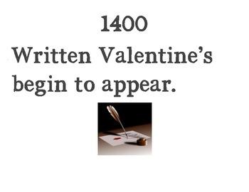 Valentine's Day Timeline