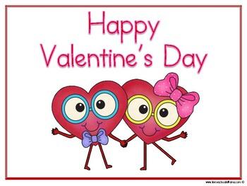 Valentine's Day Toddler/PreK Learning Pack