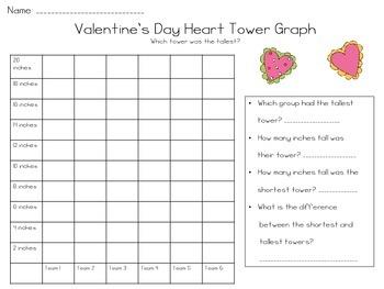 Valentine's Day Tower STEM Challenge