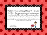 Valentine's Day Tower STEM Challenge