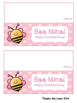 Valentine's Day Treat Bag Toppers BUNDLE