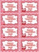 Valentine's Day Treat Labels (Owl Theme)