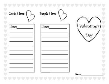Valentine's Day Trifold