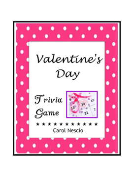 Valentine's Day Trivia ♥ Game For French, German, Italian, Spanish