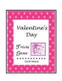 Valentine's Day Trivia ♥ Game