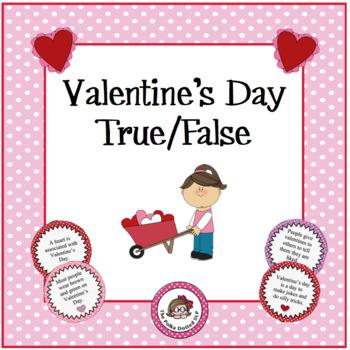 Valentine's Day True/False