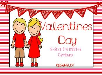 Valentines Day Unit { Ela & Math }
