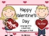 Valentine's Day Unit / Language / Math / Stations/ Crafts/ Calendar 2018
