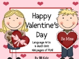 Valentine's Day Unit / Language / Math / Stations/ Crafts/ Calendar 2019