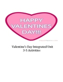 Valentine's Day Unit for 3-5