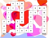 Valentine's Day Upper Case Letter/Phonics Game