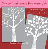 Valentines Day, Valentine's Day Bulletin Board Idea, Heart