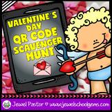 Valentine's Day Activities (Valentine's Day QR Codes Scavenger Hunt)