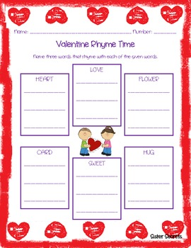 Valentine's Day:  Very Valentine Pack- Math and ELA Fun!