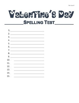 Valentine's Day Word Searches - 3 Levels of Difficulty for Primary or ESL