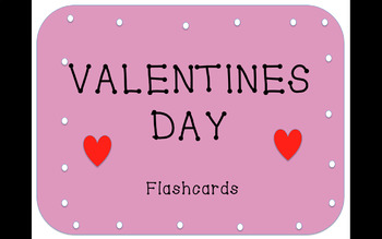 Valentines Day Vocabulary Flashcards