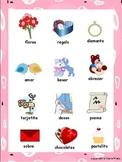 Valentine's Day Vocabulary Spanish