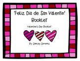 Valentine's Day Vocabulary Booklet - Dia de San Valentin