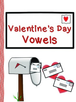 Valentine's Day Vowel Worksheets